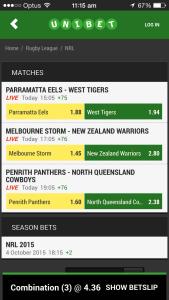 Bet Home Team NRL Multi