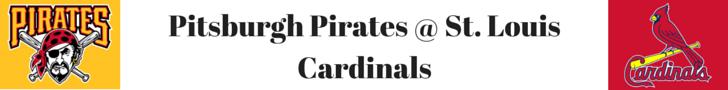 MLB Betting Tips Pitsburgh Pirates @ St. Louis Cardinals